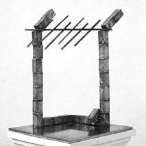Rain Gate Maquette – 1975
